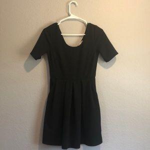 Lush Mini Black Dress